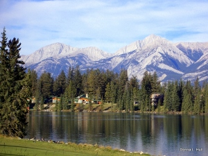 jasper-park-lodge-from-across-lac-beauvert-Canada